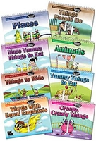 Image Early Apraxia of Speech Stories Backward Buildup: 8-Book Set