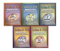Image Autism & PDD Adolescent Social Skills Lessons: 5-Book Set