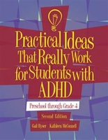 Image Practical Ideas That Really Work for Students with ADHD: Preschool Through Grade