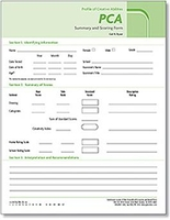 Image PCA Summary and Scoring Booklets (25)