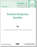 Image TOWL-4 Student Response Booklets, Form B (25)