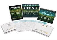 Image CTONI 2 Comprehensie Test of NonVerbal Intelligence
