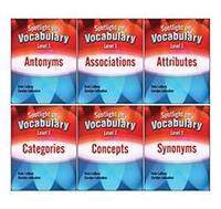 Image Spotlight on Vocabulary Level 1: 6-Book Set
