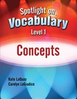 Image Spotlight on Vocabulary Level 1: Concepts