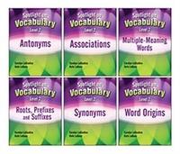 Image Spotlight on Vocabulary Level 2: 6-Book Set