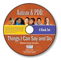Image Autism & PDD Things I Can Say and Do 6-Book Set on CD