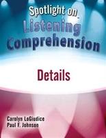 Image Spotlight on Listening Comprehension: Details