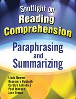 Image Spotlight on Reading Comprehension: Paraphrasing and Summarizing