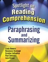 Image Spotlight on Reading Comprehension: Paraphrasing and Summarizing