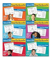 Image Autism & PDD Things I Can Say and Do: 6-Book Set
