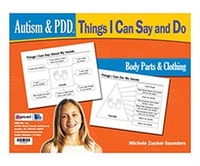 Image Autism & PDD Things I Can Say and Do: Body Parts & Clothing
