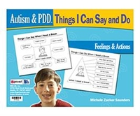 Image Autism & PDD Things I Can Say and Do: Feelings & Actions