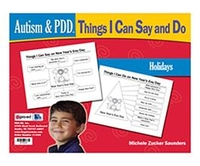 Image Autism & PDD Things I Can Say and Do: Holidays