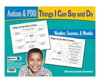 Image Autism & PDD Things I Can Say and Do: Weather, Seasons, & Months