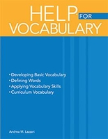 Image andbook of Exercises for Language Processing HELP for Vocabulary