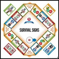 Image Life Skills Series for Today's World: Survival Signs Game