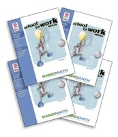 Image School-to-Work Skills: Basic Math Set of 4