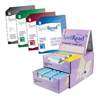 Image SpellRead Student Cards & Materials Kit Serves 5