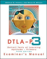 Image Detroit Tests of Learning Aptitude Primary Third Edition (DTLA-P:3) Complete Ki