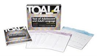 Image TOAL 4 Test of Adolescent and Adult Language Fourth Edition