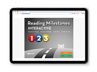 Image Reading Milestones Interactive Online
