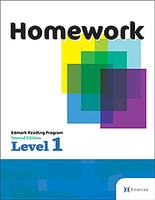 Image Edmark Reading Program: Level 1 - Second Edition, Homework