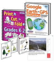 Image K-2 Print Cut Fold and Google Activities Bundle