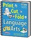 Image Print, Cut, and Fold Creative Technology Projects for Language Arts