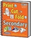 Image Print, Cut, and Fold Creative Technology Projects for Secondary