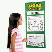Image Word-of-the-Week Chart Set Grades 4-5